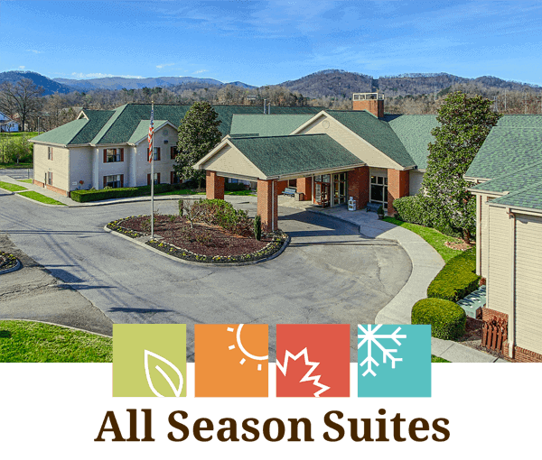All Season Suites Hotel in Pigeon Forge Tennessee