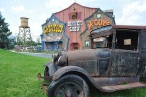 The Hatfield & McCoy Dinner Show in Pigeon Forge.
