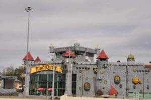 The MagiQuest castle in Pigeon Forge.